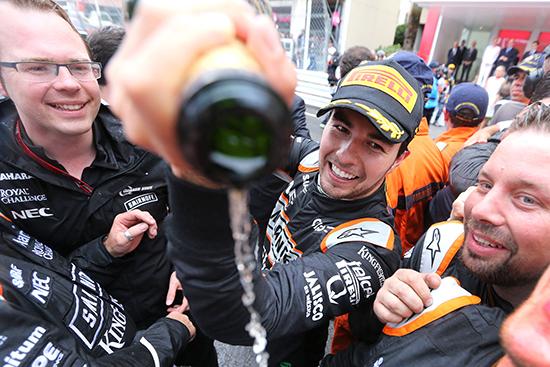 Sergio Pérez clinches 3rd at the Monaco GP