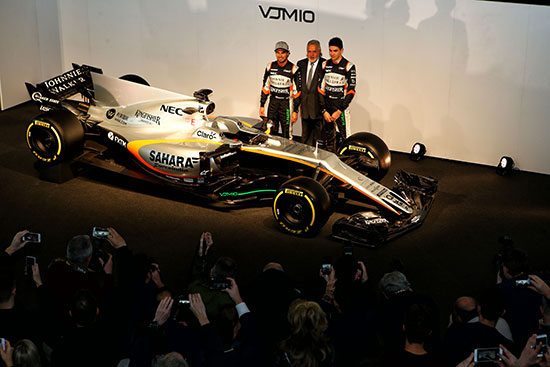 Hype to keep Sahara Force India energised in 2017