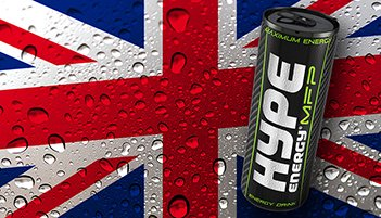 Hype Energy Launches in the United Kingdom