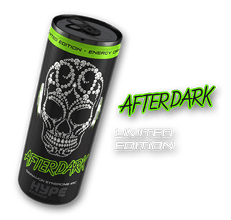 Hype Energy Drink AfterDark