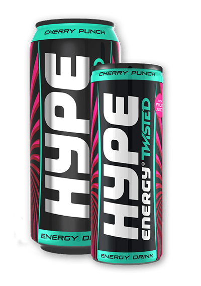 Hype Energy Drink Twisted Cherry