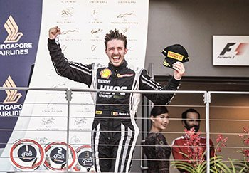 Back-to-back wins for Florian Merckx in Singapore during the Formula 1 GP weekend