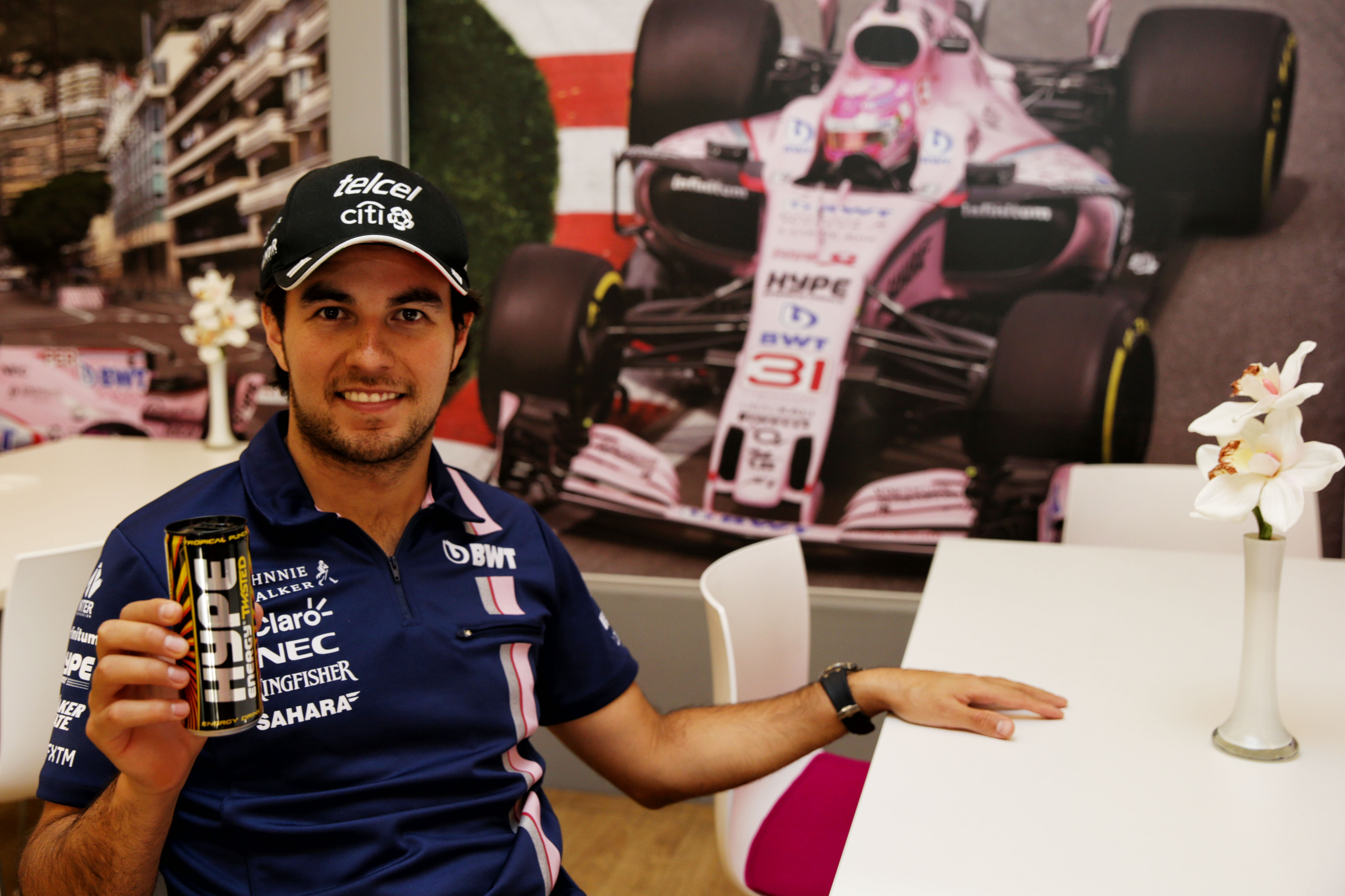 Hype Energy Twisted Sergio Perez