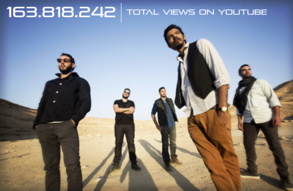 Cairokee In Numbers: 163.818.242 - Total Views on YouTube