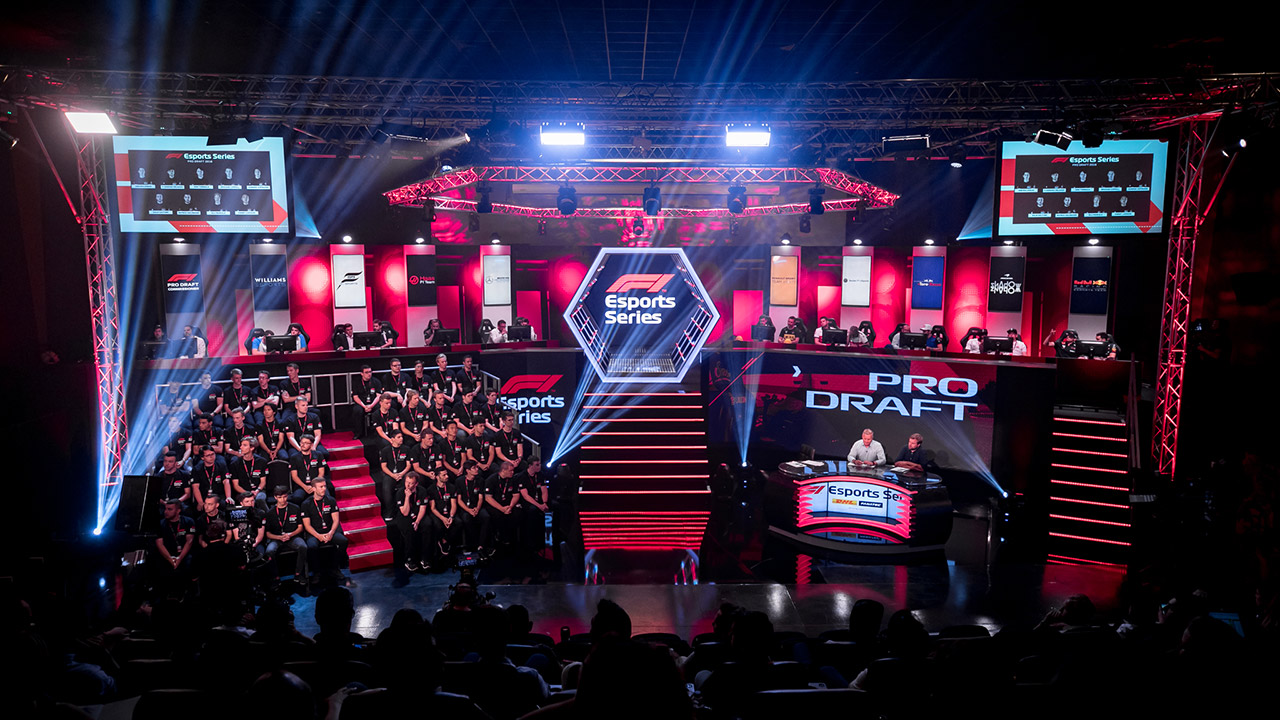 F1 Esports Live Event 1 Gfinity Arena