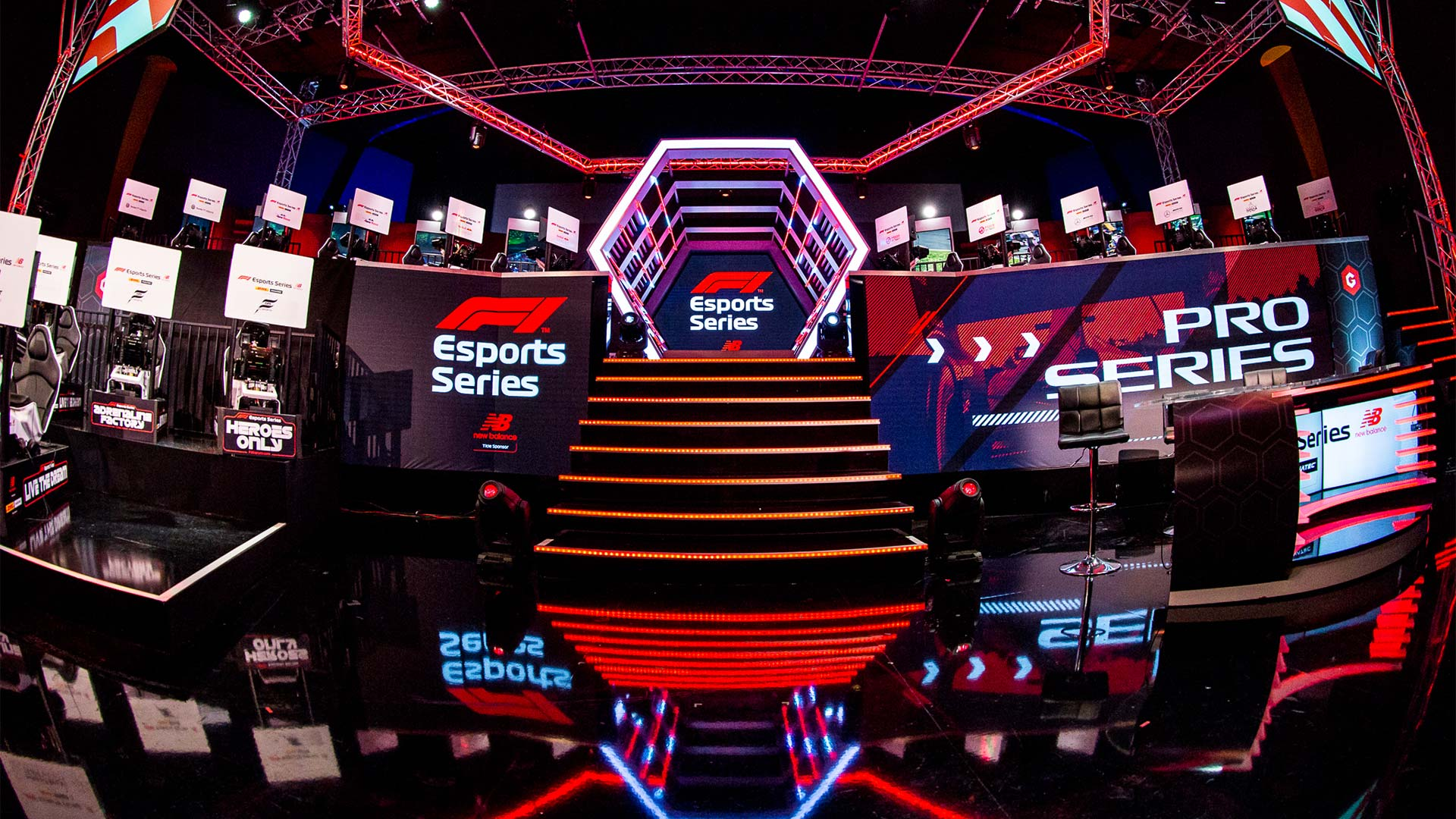 F1 Esports Pro Series Hype Energy eForce India Banner