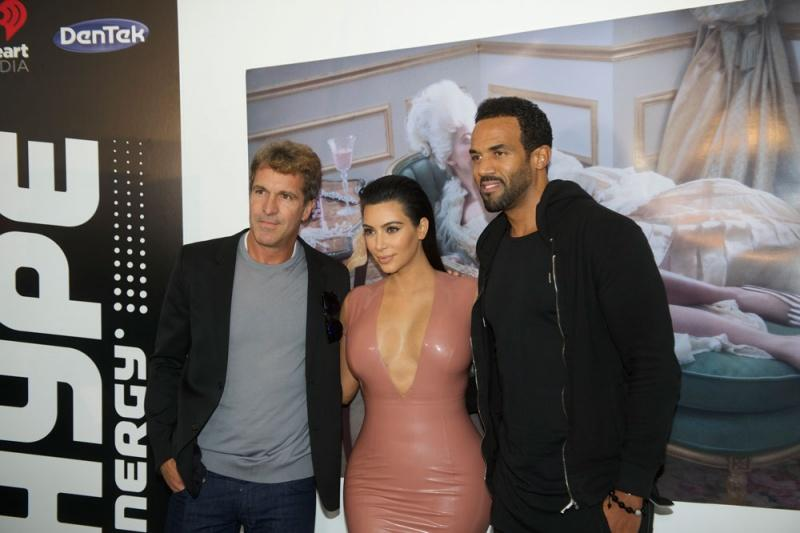 John Jansheski, Kim Kardashian and Craig David