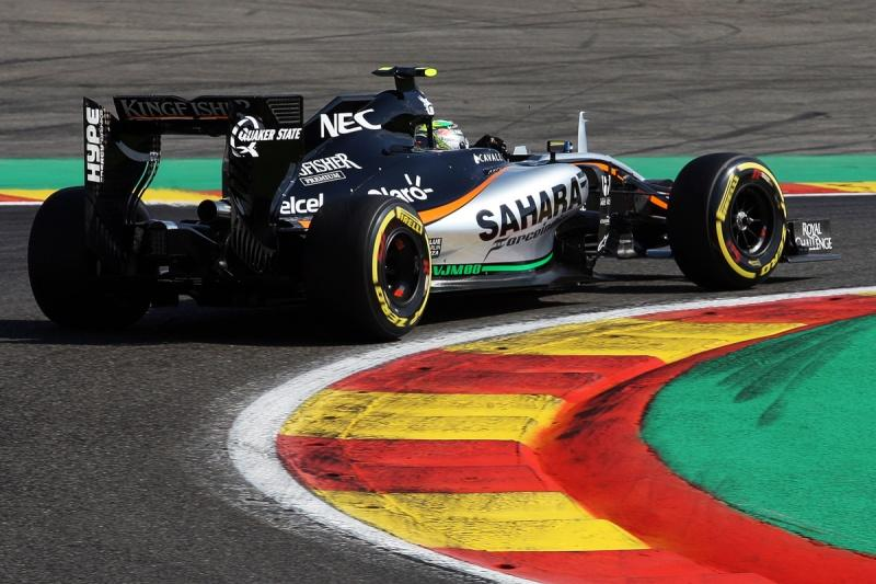 Hype Energy Drinks Sahara Force India F1 Belgian GP 1