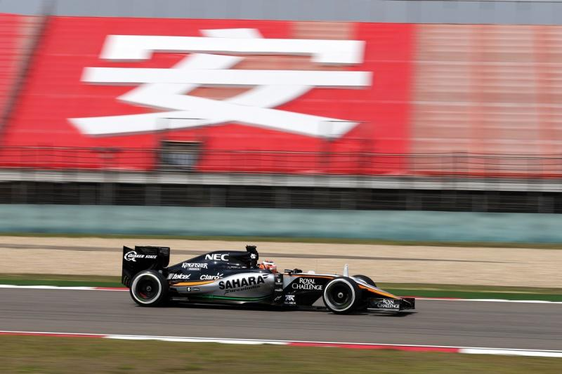 Hype Energy Drinks Sahara Force India F1 China 3