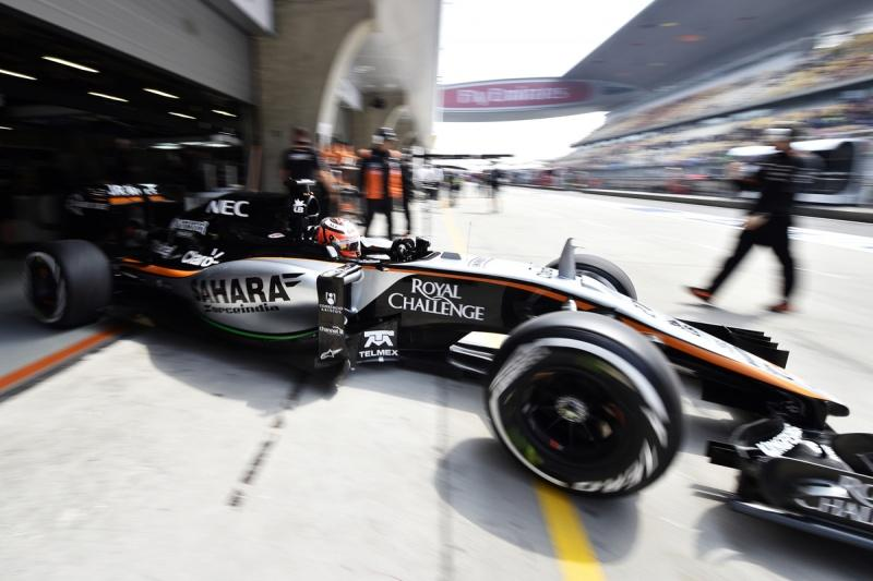 Hype Energy Drinks Sahara Force India F1 China 4