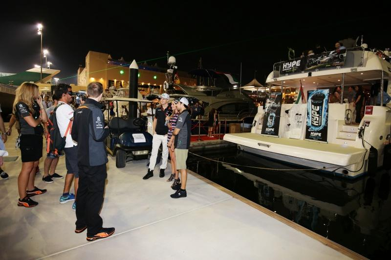 Hype Energy Force India F1 Saturday Night Yacht Party 10