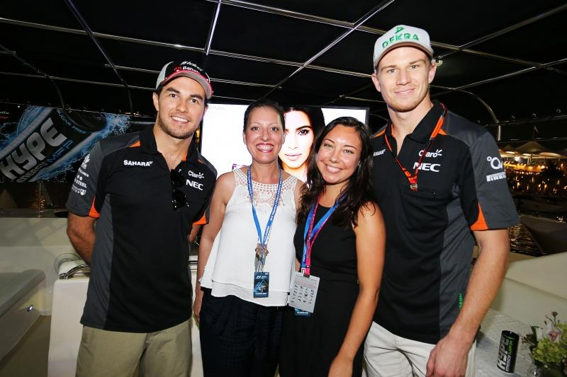 Hype Energy Force India F1 Saturday Night Yacht Party 11