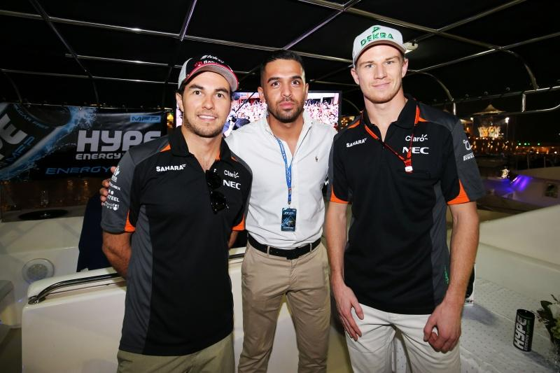 Hype Energy Force India F1 Saturday Night Yacht Party 12