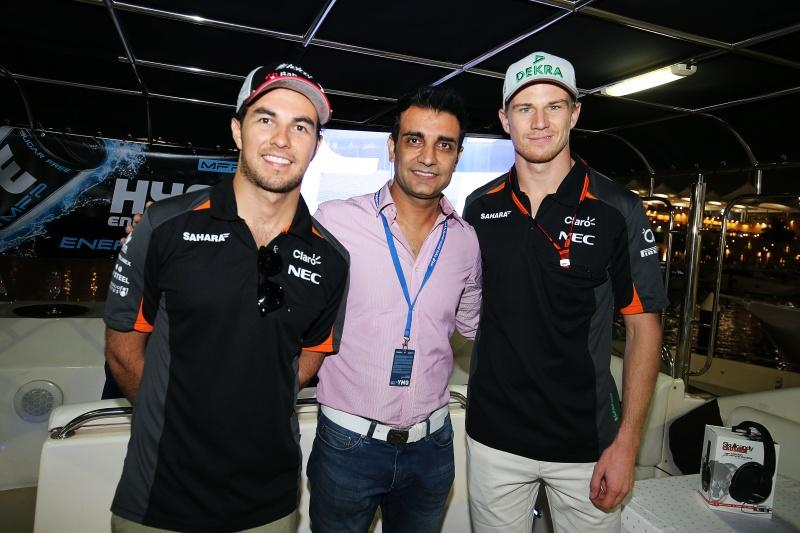 Hype Energy Force India F1 Saturday Night Yacht Party 17