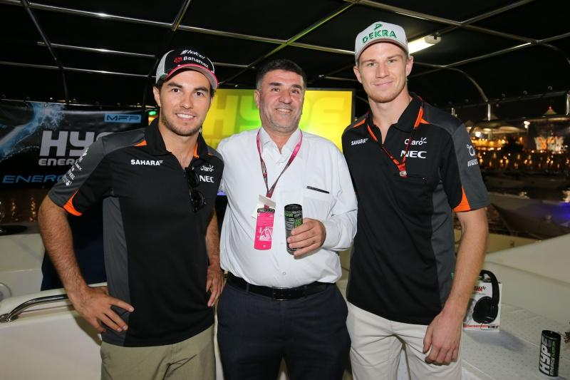 Hype Energy Force India F1 Saturday Night Yacht Party 3