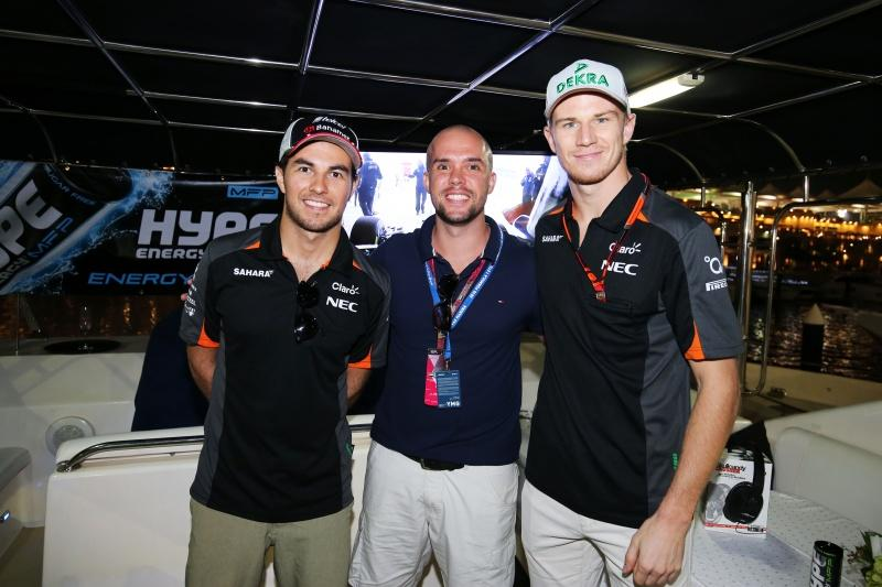 Hype Energy Force India F1 Saturday Night Yacht Party 8