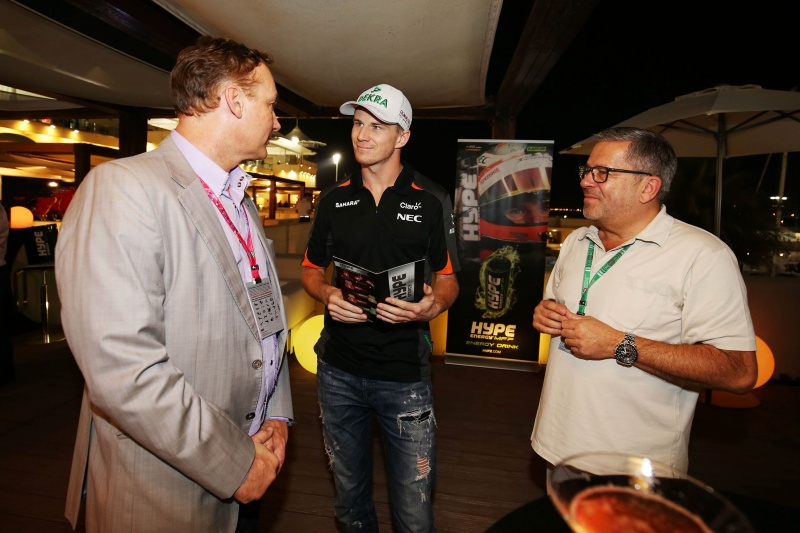 Hype Energy Force India F1 Thursday Yas Marina Terrace Party 14