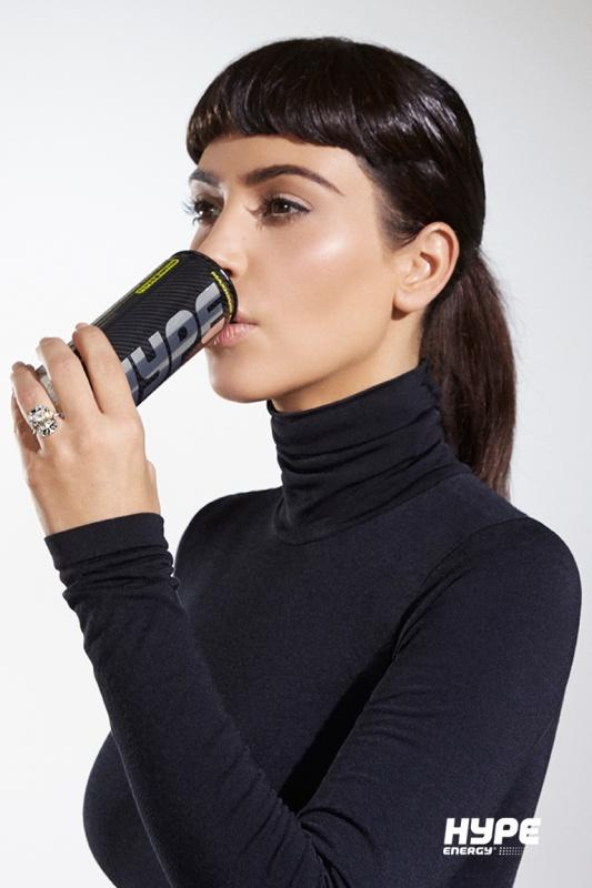 Kim Kardashian West for Hype Energy USA 14