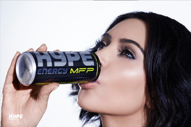 Kim Kardashian West for Hype Energy USA 19