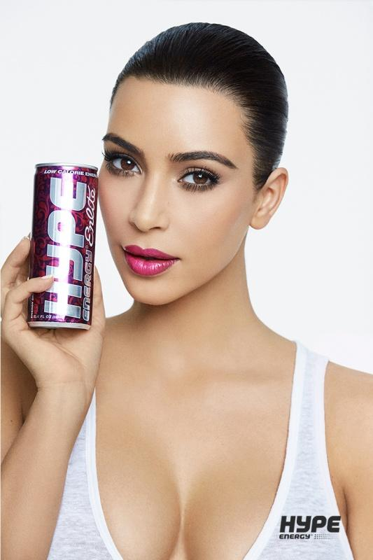Kim Kardashian West for Hype Energy USA 8