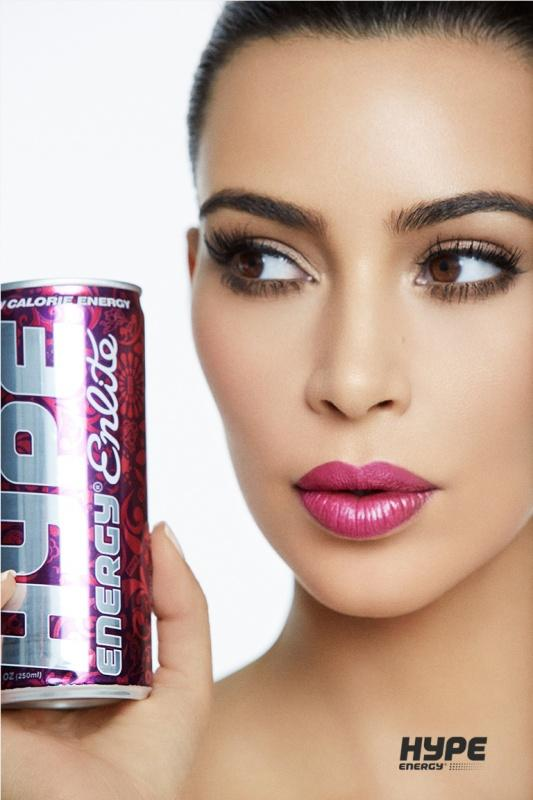 Kim Kardashian West for Hype Energy USA 9