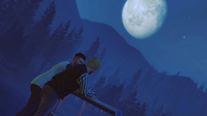 ssv gamingTalking to the moon GTAV