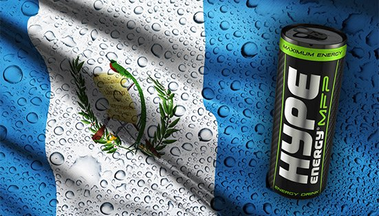 Guatemala Joins the Hype Energy Family