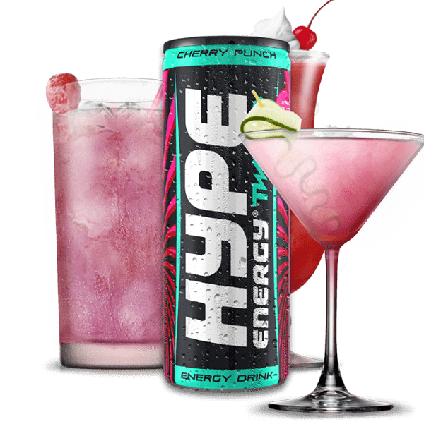 Hype Energy Twisted Cherry Cocktail